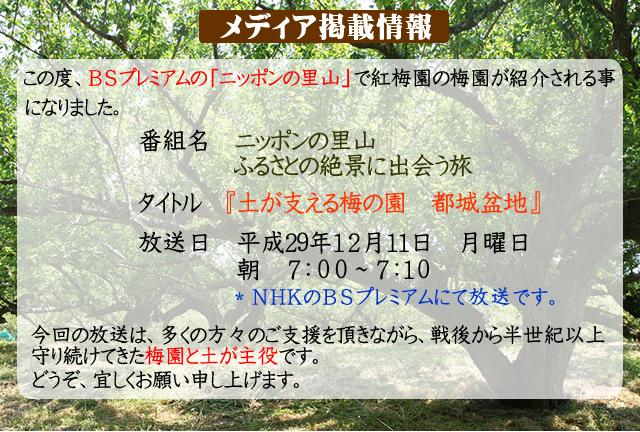 NHKのBSプレミアム